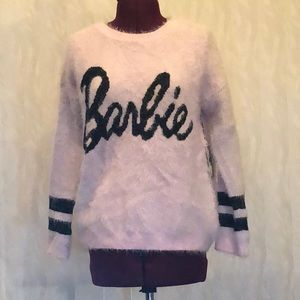 Baby Pink Barbie Sweater